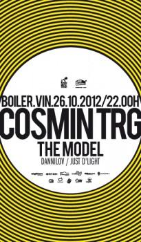 Cosmin TRG în Boiler Club din Cluj-Napoca