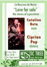 Concert Cătălina Beta şi Ciprian Pop în Mystic Tree din Bucureşti