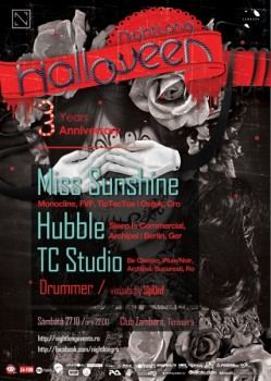 NightLong Halloween în Club Zambara din Timişoara