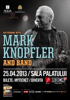 Concert Mark Knopfler la Sala Palatului din Bucureşti