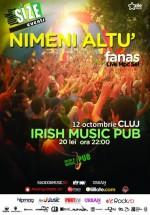 Concert Nimeni Altu' în Irish Music & Pub din Cluj-Napoca