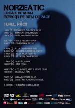 """Turneu Norzeatic – """"Turul Păcii"""" în România"""
