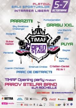 TiMAF Open Stage 2012 la Cluj-Napoca