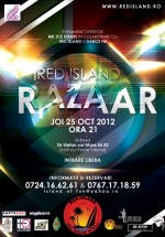 Razaar în Club Red Island din Bucureşti