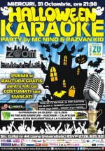 Halloween Karaoke Party în Zoom Cafe din Bucureşti
