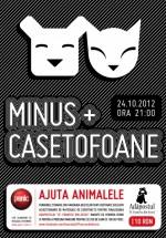 Minus şi Casetofoane în Panic! Club din Bucureşti