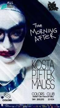 Kosta, Piftek şi Mauss în Colors Club din Bucureşti