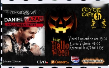 Halloween Party în Coyote Cafe din Bucureşti