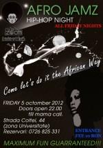 Afro Jamz Party în Zoom Cafe din Bucureşti