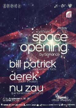 Opening Party în Space Club din Bucureşti