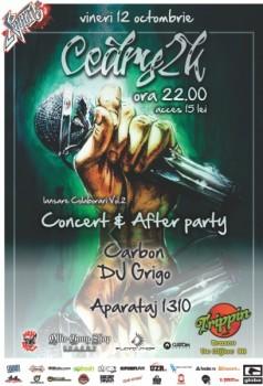 Concert Cedry2k în Trippin Cafe din Braşov