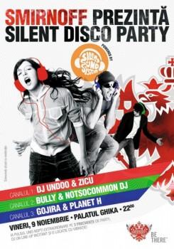Silent Disco Party la Palatul Ghika din Bucureşti