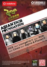 Concert Asian Dub Foundation la Turbohalle din Bucureşti