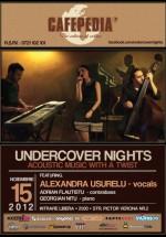 Alexandra Uşurelu în Cafepedia din Bucureşti