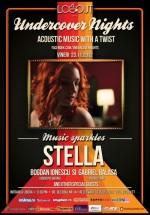 Concert Stella în Log Out Cafe din Bucureşti