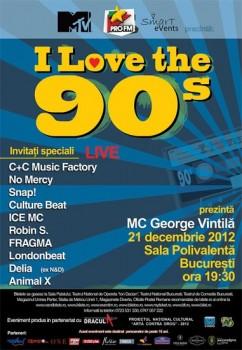 I love the 90's la Sala Polivalentă din Bucureşti