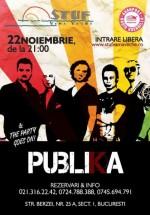 Concert Publika în Stuf Vama Veche din Bucureşti