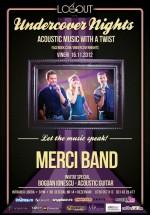 Concert Merci Band în Log Out Cafe din Bucureşti