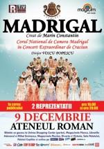 Concert Corul Madrigal la Ateneul Român din Bucureşti