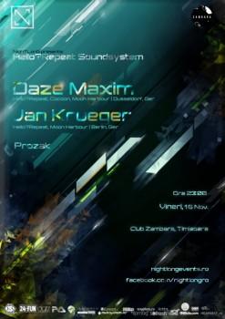 Daze Maxim & Jan Kruger în Club Zambara din Timişoara