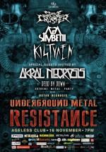 Underground Metal Resistance în Ageless Club din Bucureşti