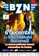 Concert BZN de Sărbători la Sala Palatului din Bucureşti