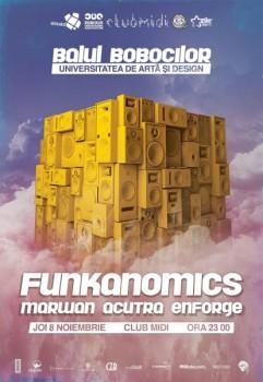 Funkanomics în Club Midi din Cluj-Napoca