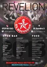 Revelion 2013 în El Dictador din Bucureşti