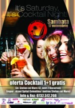 Cocktail Night în Club Red Island din Bucureşti