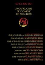 Stand-Up Comedy & Improvizaţie în Club 99 din Bucureşti