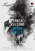 Tania Vulcano în Kristal Club din Bucureşti