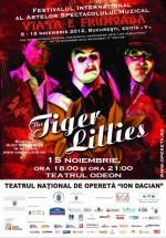 Concert The Tiger Lillies la Teatrul Odeon din Bucureşti