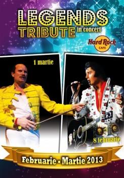 Legends Tribute In Concert la Hard Rock Cafe din Bucureşti