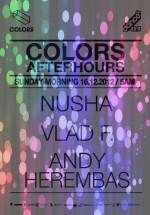 Nusha, Vlad F. şi Andy Herembas în Colors Club din Bucureşti