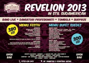 Revelion 2013 în La Historia din Bucureşti