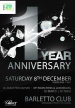 1 Year Anniversary în Barletto Club din Bucureşti