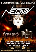 Lansare album de debut N.E.G.A.T.I.V în Ageless Club din Bucureşti