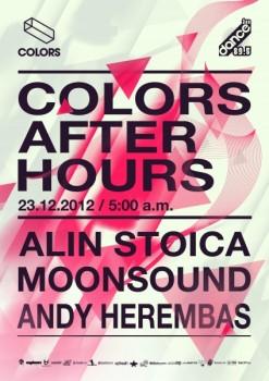 Alin Stoica, MoonSound, Andy Herembas în Colors Club din Bucureşti