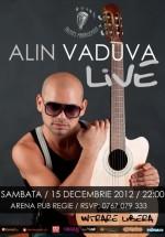 Concert Alin Văduva & Band în Arena Pub din Bucureşti