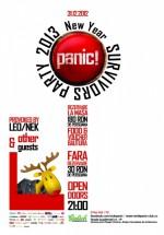 2013 New Year's Eve Survivors Party în Panic! Club din Bucureşti