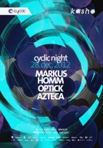 Markus Homm, Azteca şi DJ Optick în Kasho Club din Braşov – ANULAT