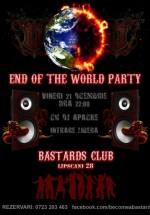 End of the World Party în Bastads Club din Bucureşti