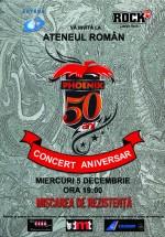 Concert Phoenix – 50 de ani la Ateneul Român