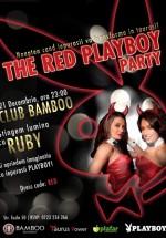 The Red Playboy Party în Club Bamboo din Bucureşti