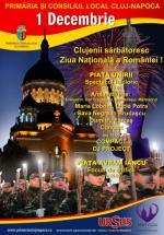 1 decembrie 2012 – Ziua Naţională a României la Cluj-Napoca