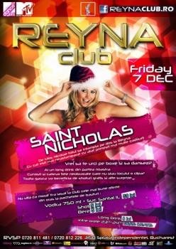 Saint Nicholas în Reyna Club din Bucureşti