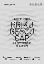Priku, Gescu şi Cap în Space Club din Bucureşti