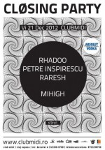 Closing Party în Club Midi din Cluj-Napoca