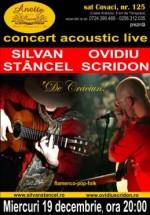 Concert Ovidiu Scridon & Silvan Stâncel la Pensiunea Anette din Timişoara