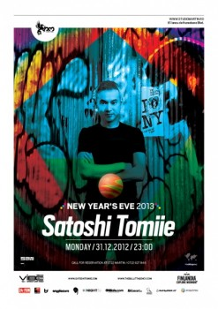 New Year's Eve 2013 – Satoshi Tomiie în Studio Martin din Bucureşti